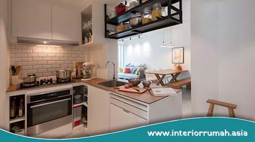 Desain Dapur yang Sempit Dengan Harga Terjangkau