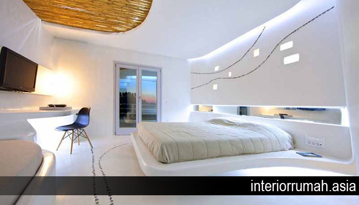 Desain Interior Rumah Bergaya Futuristik
