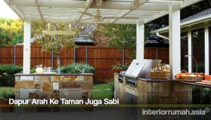 Dapur Arah Ke Taman Juga Sabi
