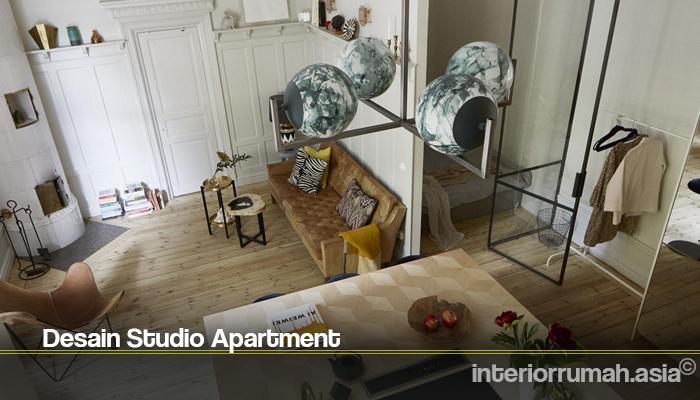 Desain Studio Apartment