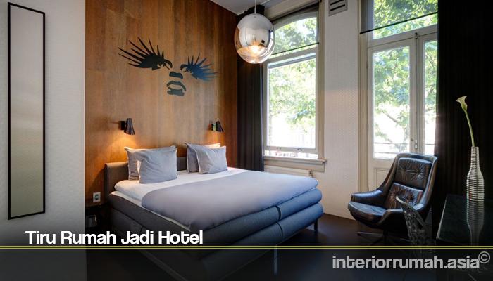 Tiru Rumah Jadi Hotel