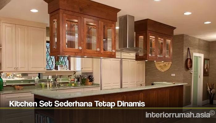 Kitchen Set Sederhana Tetap Dinamis