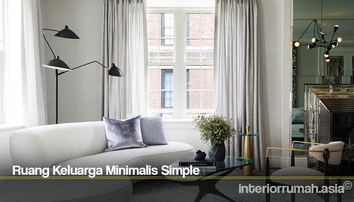 Ruang Keluarga Minimalis Simple