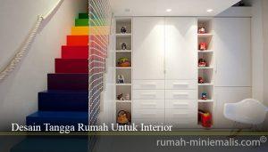 Desain Tangga Rumah Untuk Interior