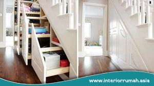 Beberapa Ide Menciptakan Tempat Penyimpanan di Rumah