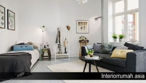 Trik Praktis Menentukan Zonasi Ruang dalam Apartemen Studio Minimalis