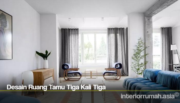Desain Ruang Tamu Minimalis Sederhana Interior Rumah