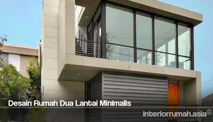 Desain Rumah Dua Lantai Minimalis