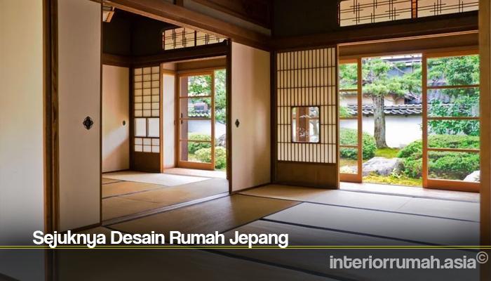 Sejuknya Desain Rumah Jepang