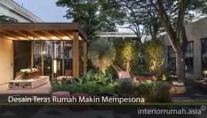 Desain Teras Rumah Makin Mempesona
