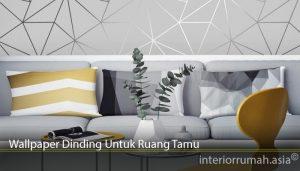 Wallpaper Dinding Untuk Ruang Tamu