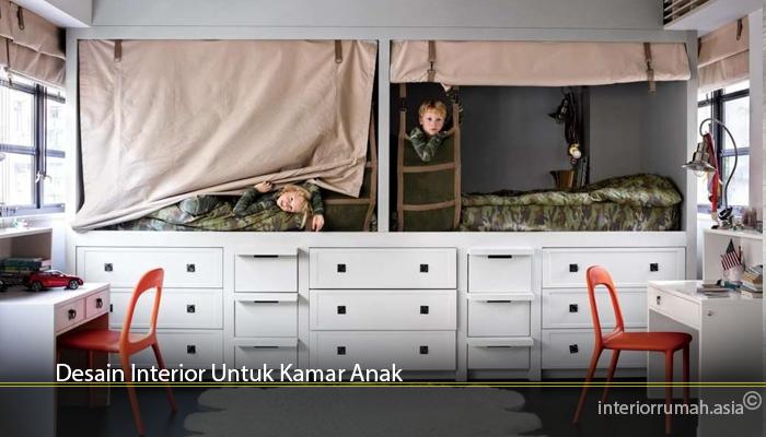 Desain Interior Untuk Kamar Anak