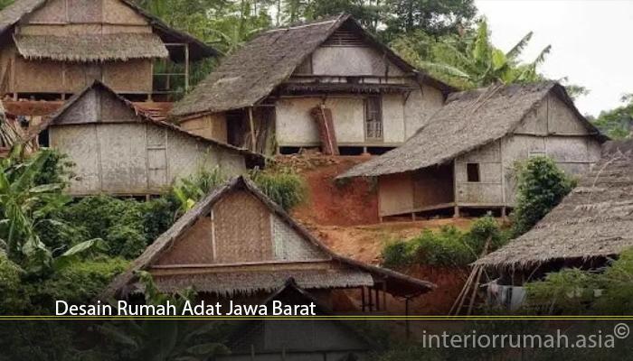 Desain Rumah Adat Jawa Barat
