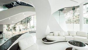 Inspirasi Desain InteriorFuturistik