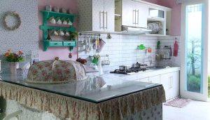 Desain Interior Dapur Shabby Chic